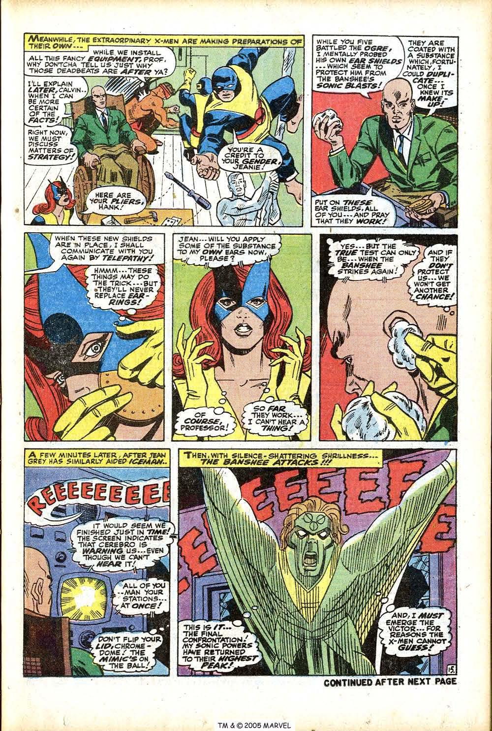 Uncanny X-Men (1963) 76 Page 20