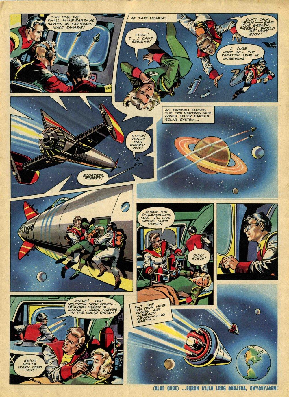 Read online TV Century 21 (TV 21) comic -  Issue #8 - 5