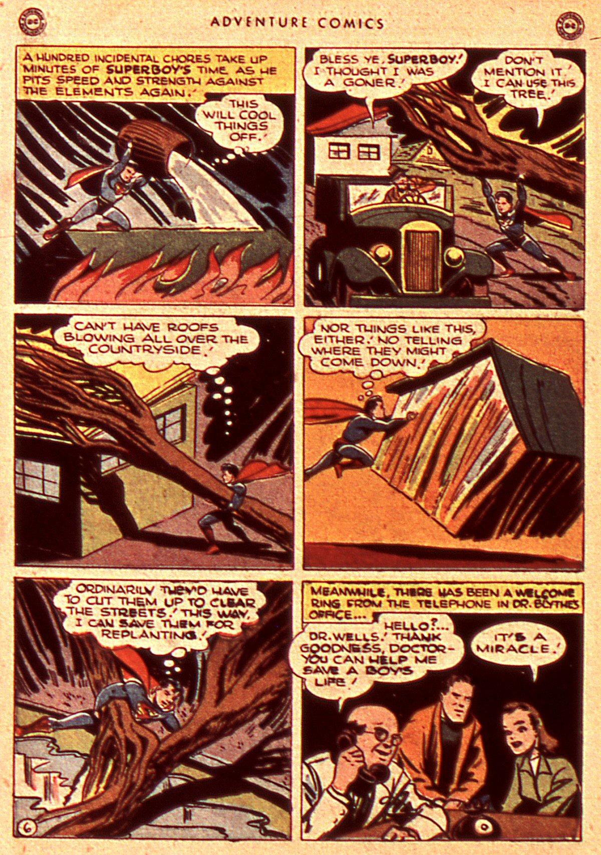 Read online Adventure Comics (1938) comic -  Issue #106 - 8