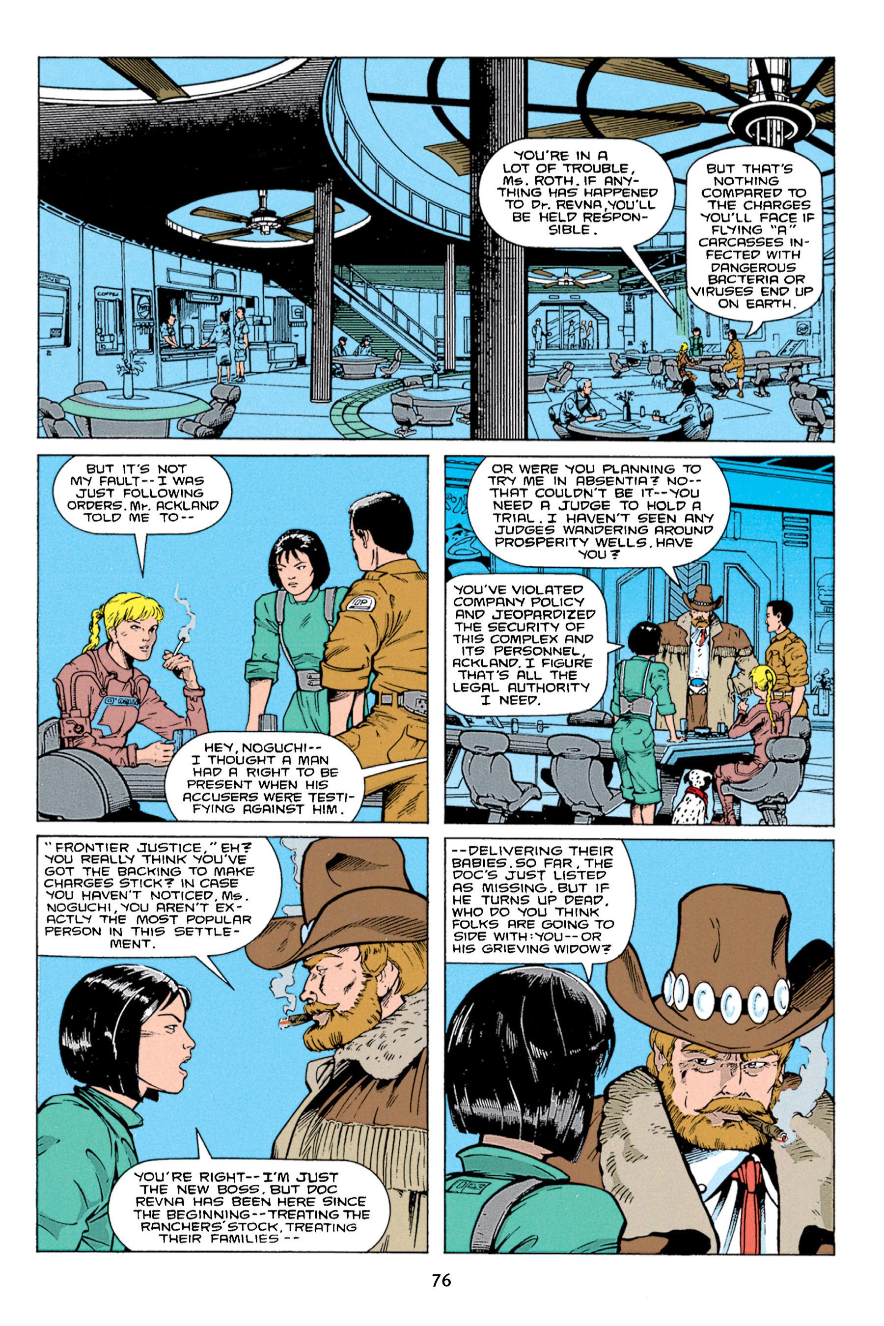 Read online Aliens vs. Predator Omnibus comic -  Issue # _TPB 1 Part 1 - 76