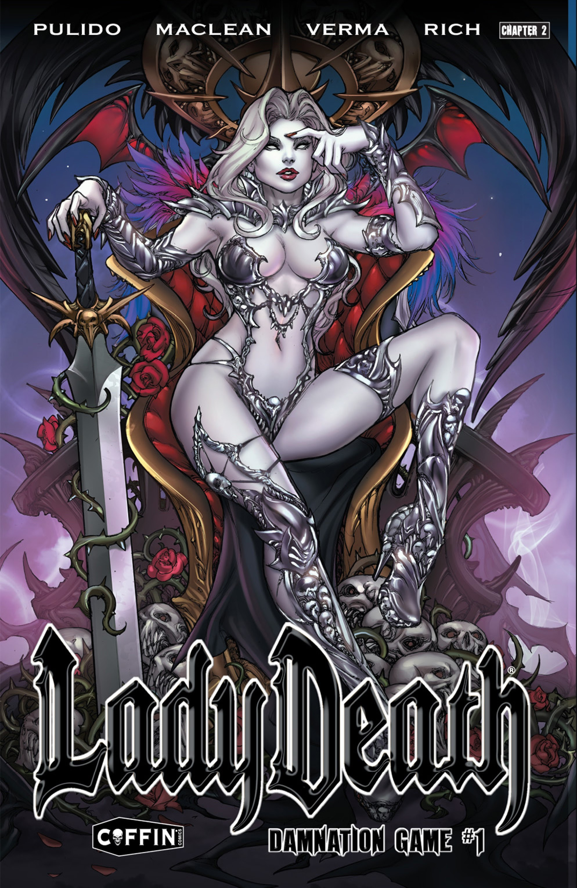 Lady Death: Damnation Game Full Page 1