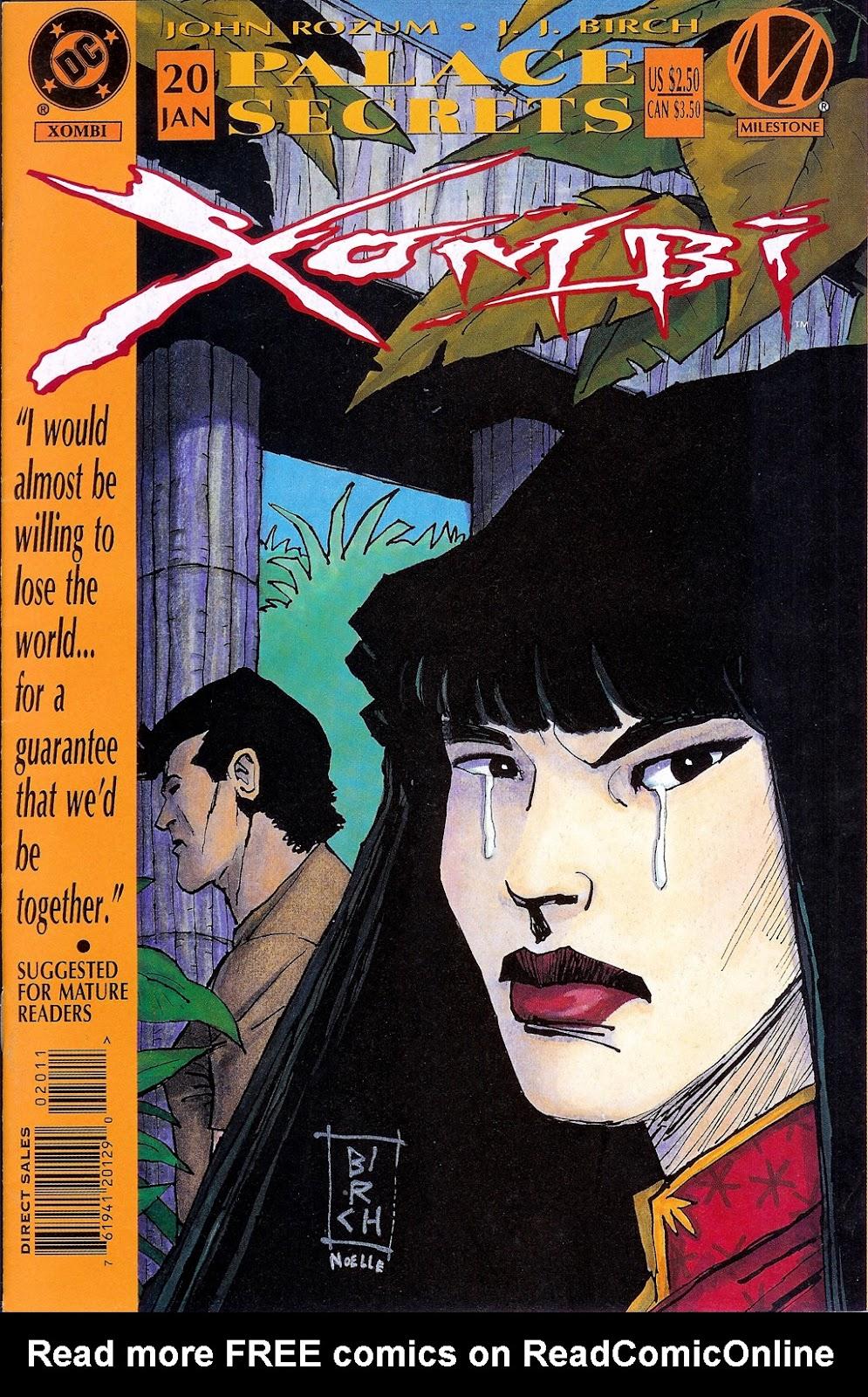 Xombi (1994) 20 Page 1