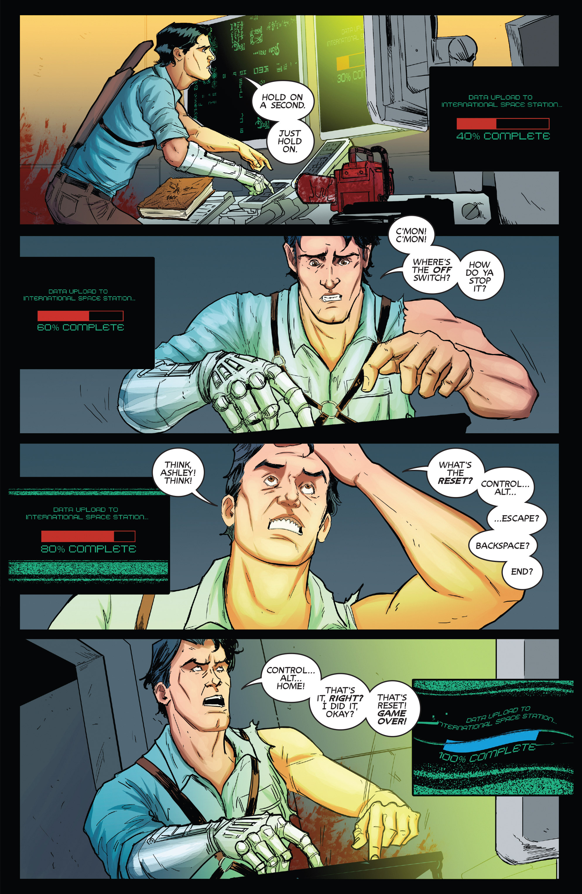 Read online Army of Darkness (2014) comic -  Issue #1 - 24