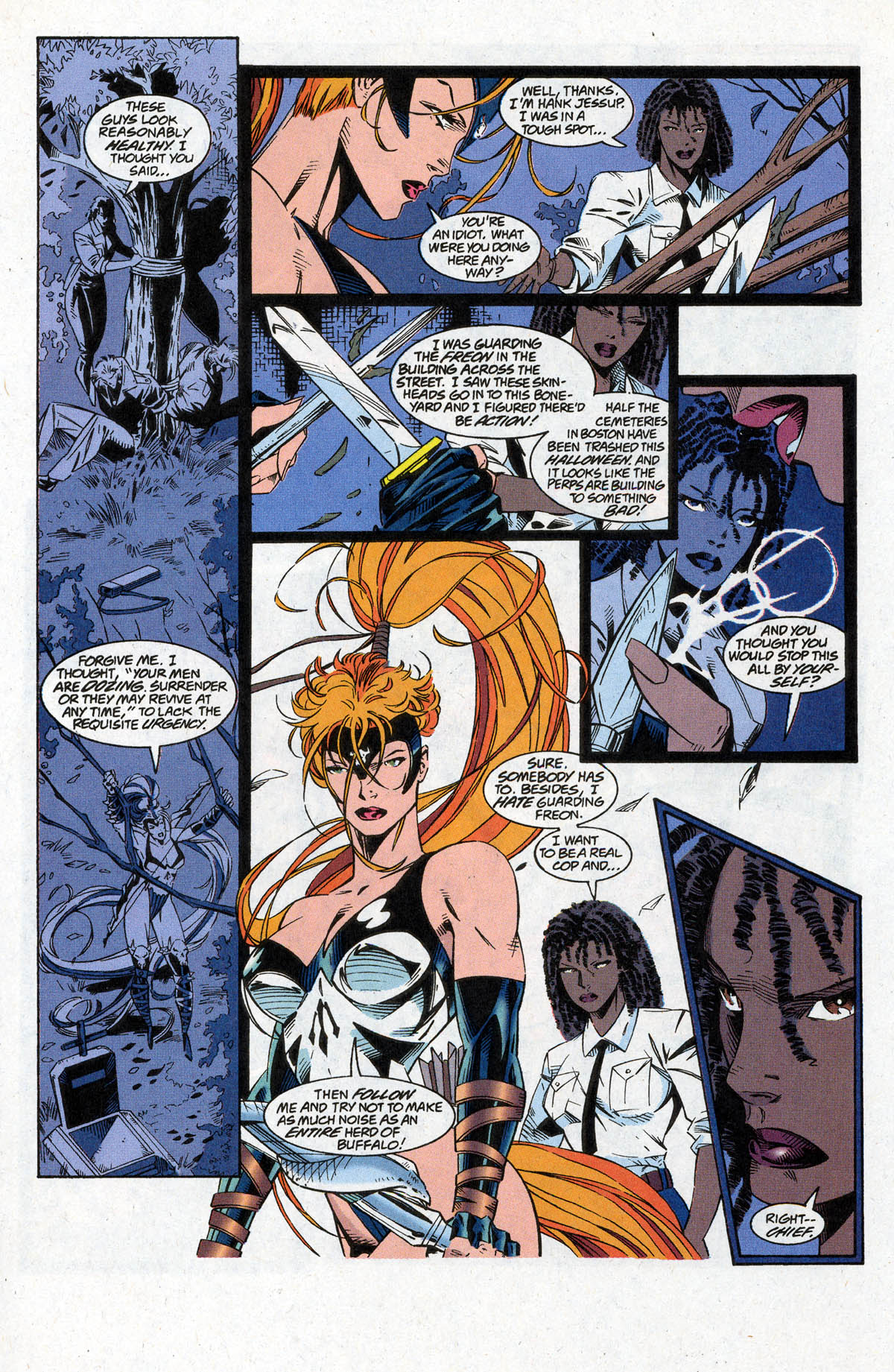 Read online Artemis: Requiem comic -  Issue #2 - 11