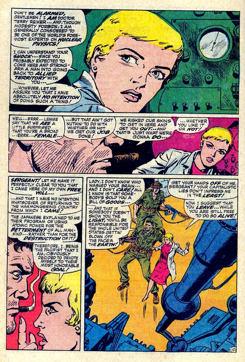 Read online Sgt. Fury comic -  Issue #64 - 16