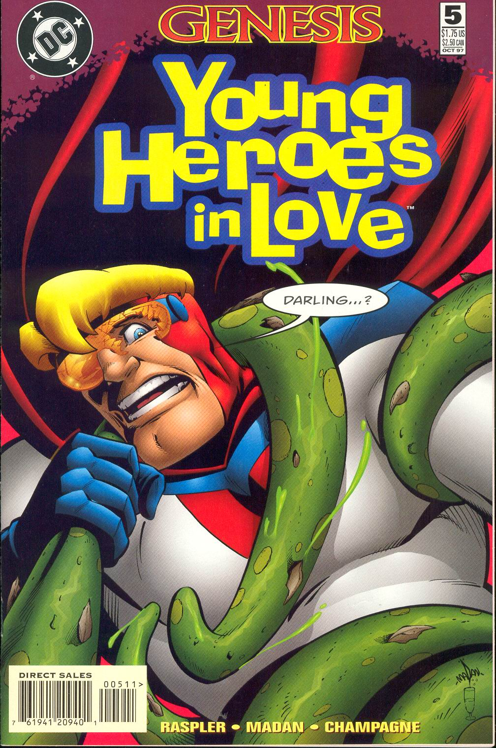 Young Heroes in Love issue 5 - Page 1