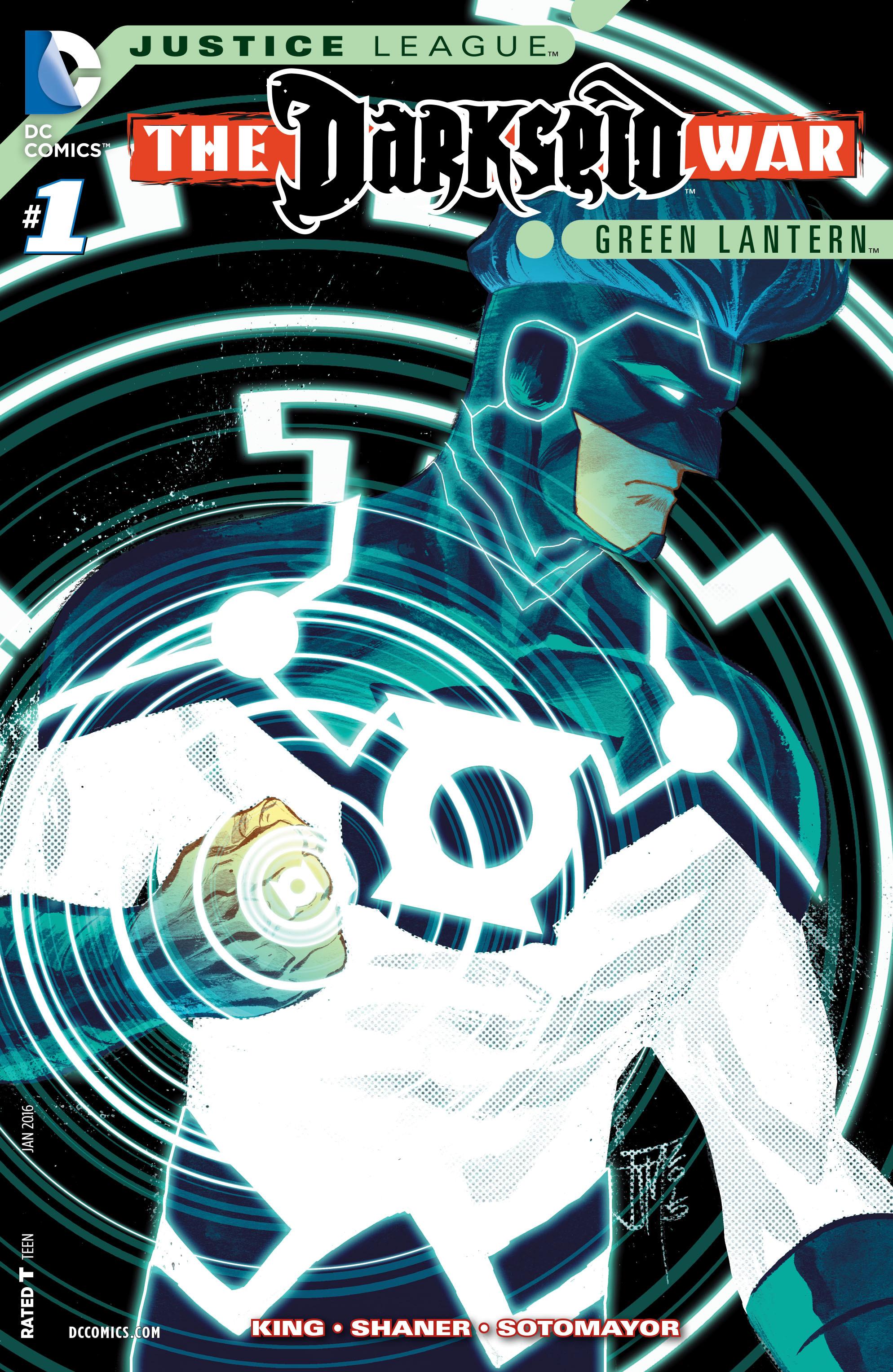 Justice League: Darkseid War: Green Lantern 1 Page 1