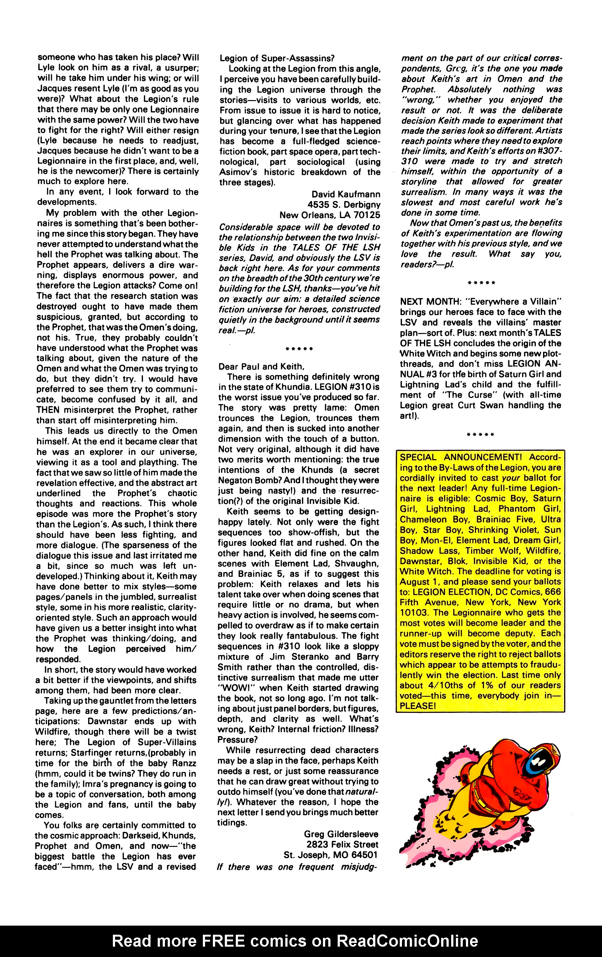 Legion of Super-Heroes (1984) 2 Page 26