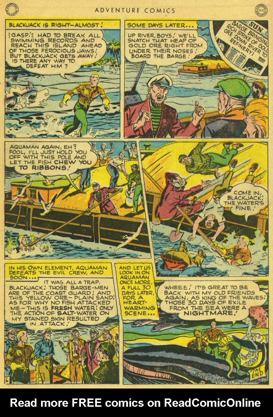 Read online Adventure Comics (1938) comic -  Issue #134 - 34