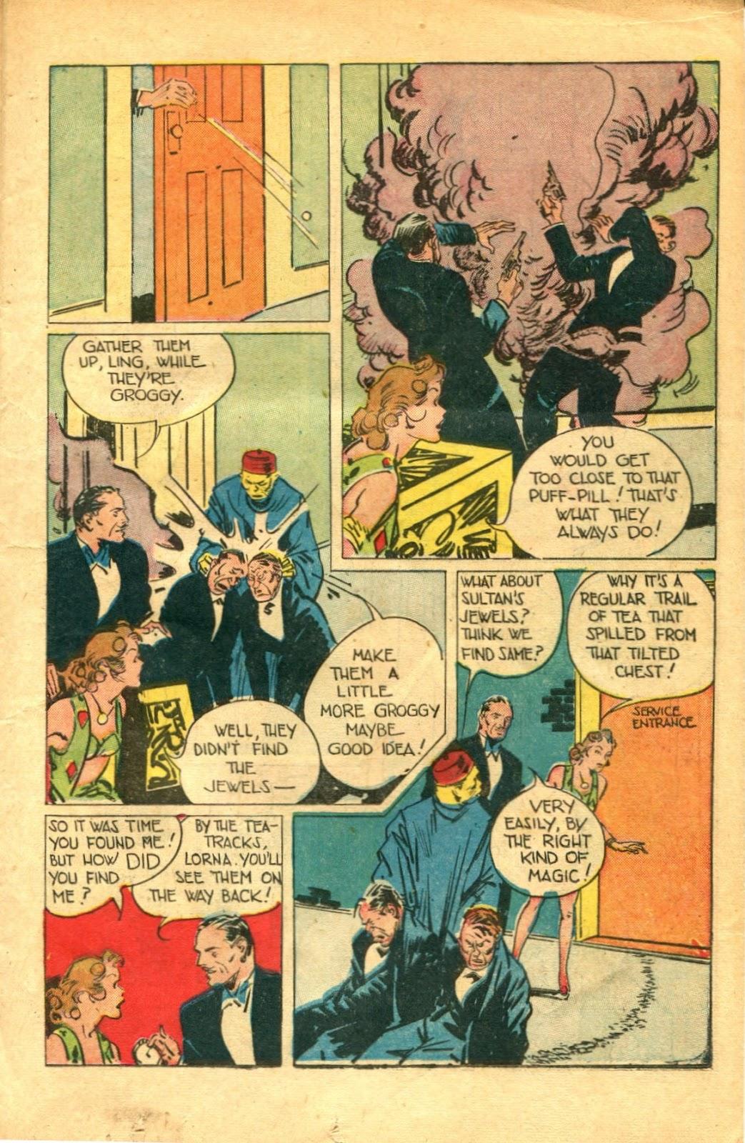 Read online Super-Magician Comics comic -  Issue #48 - 15