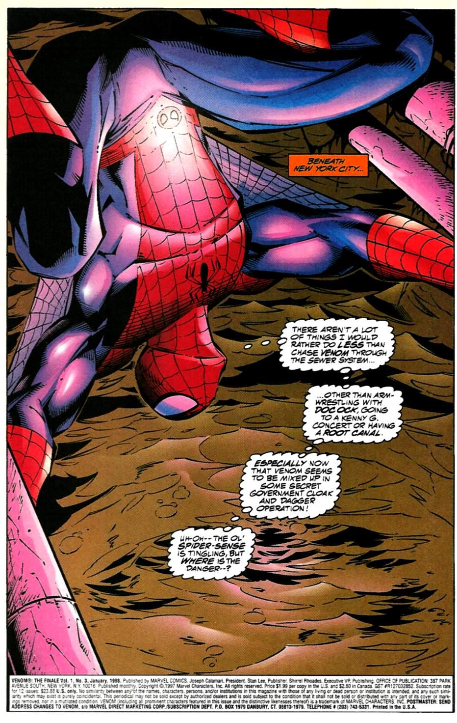 Comic Venom: The Finale issue 3