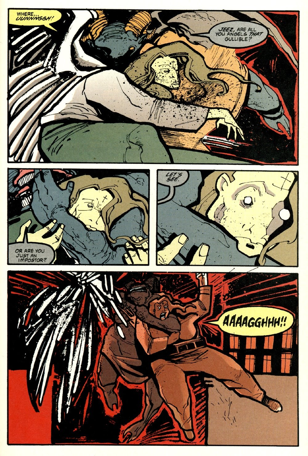 Read online Ted McKeever's Metropol comic -  Issue #8 - 21