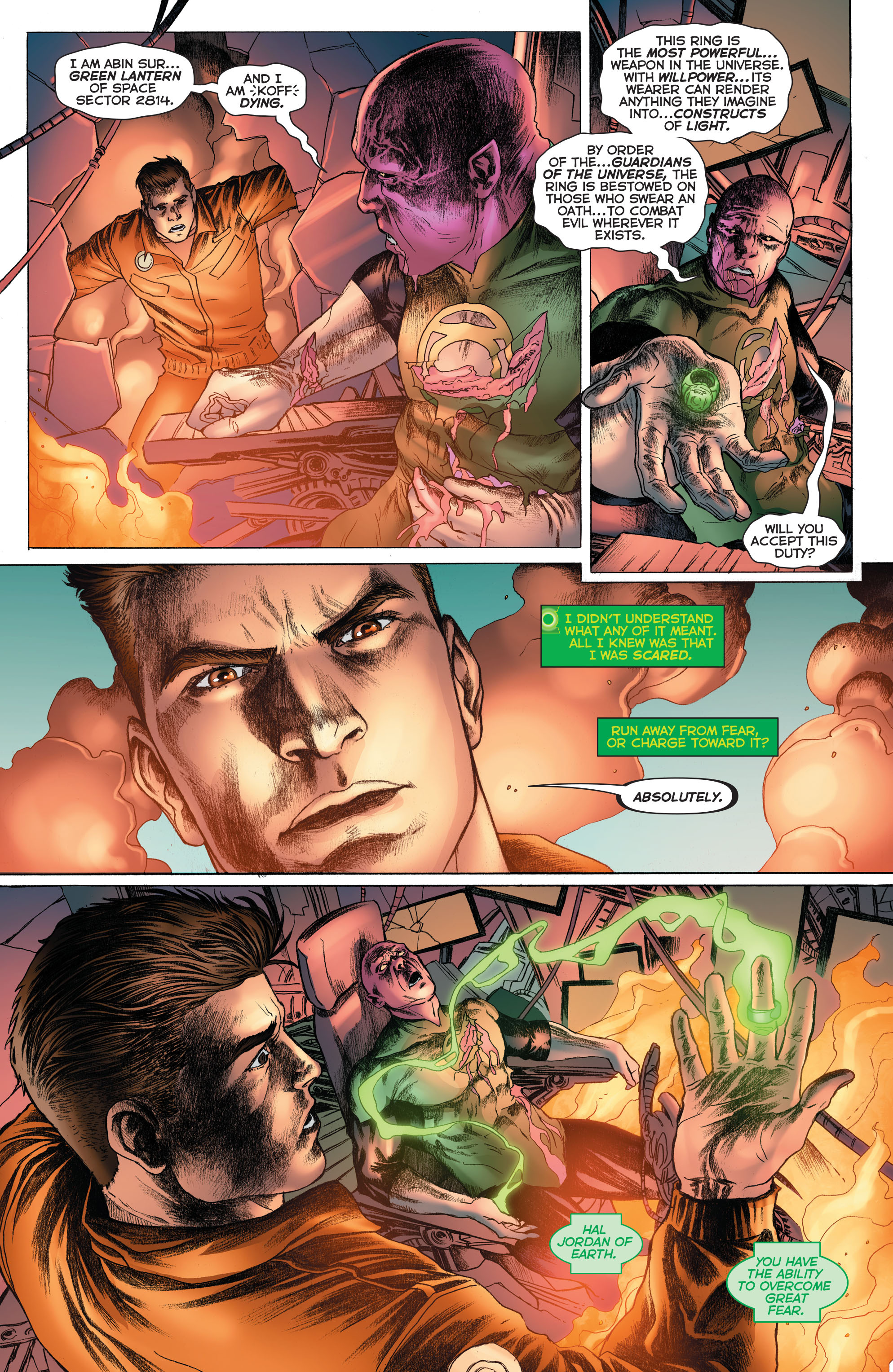 Read online Secret Origins (2014) comic -  Issue #3 - 8