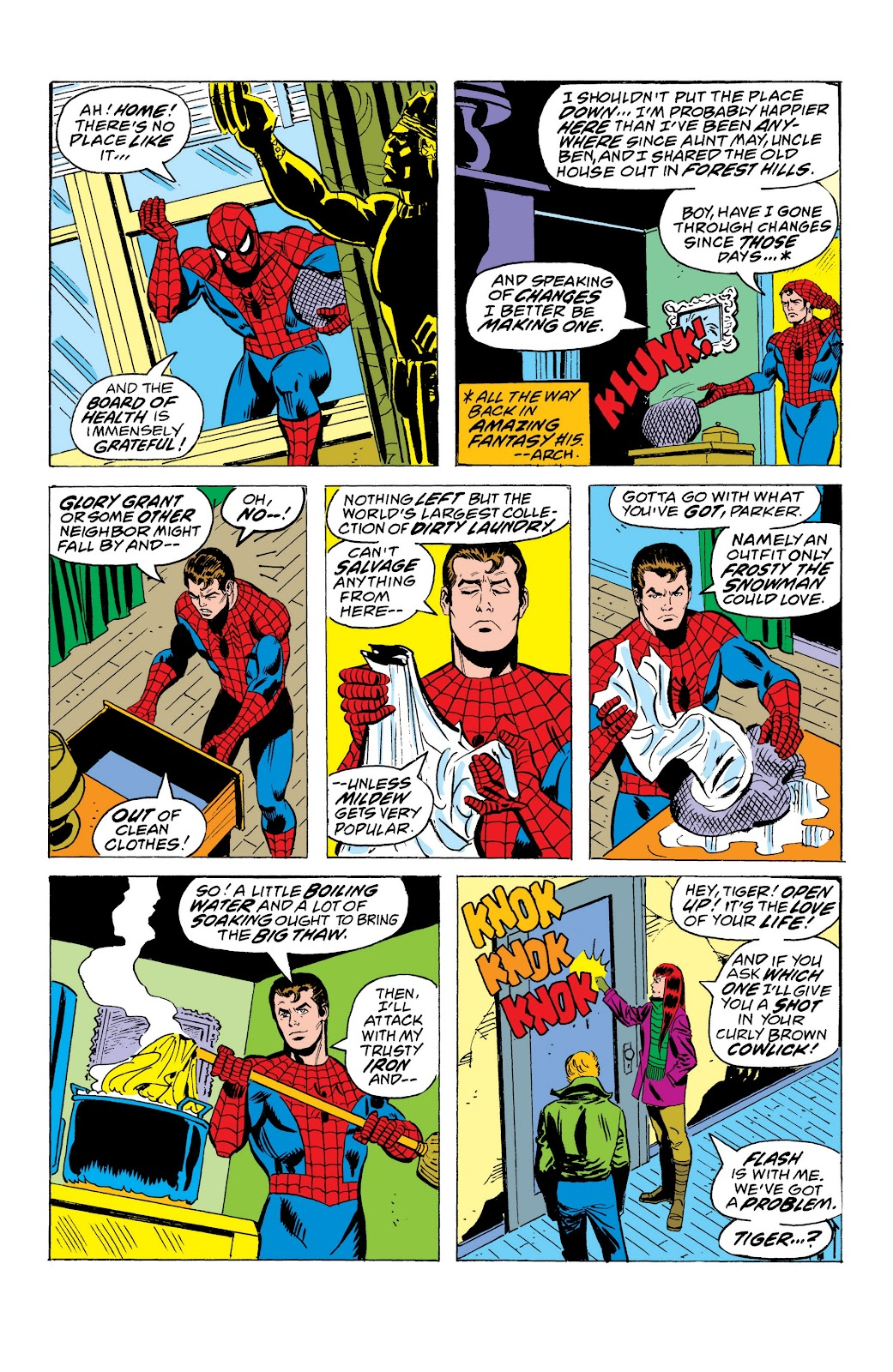 Read online Marvel Masterworks: The Spectacular Spider-Man comic -  Issue # TPB (Part 1) - 88