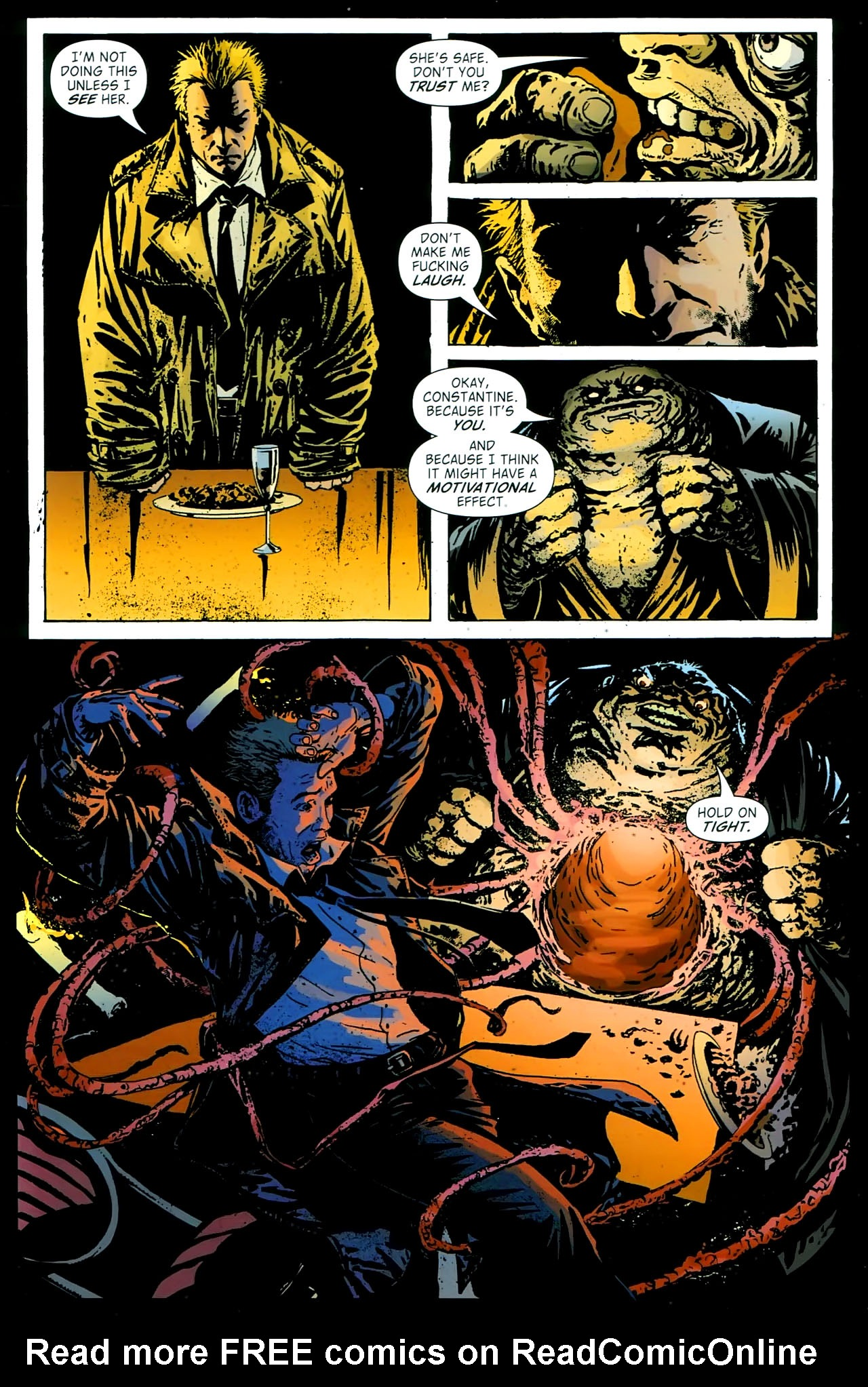 Read online John Constantine Hellblazer: All His Engines comic -  Issue # Full - 50