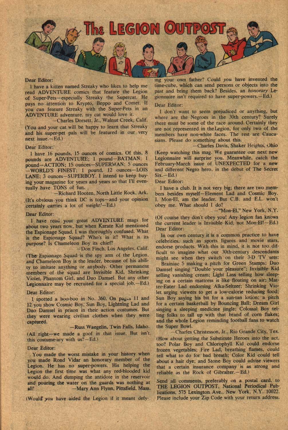 Read online Adventure Comics (1938) comic -  Issue #363 - 34