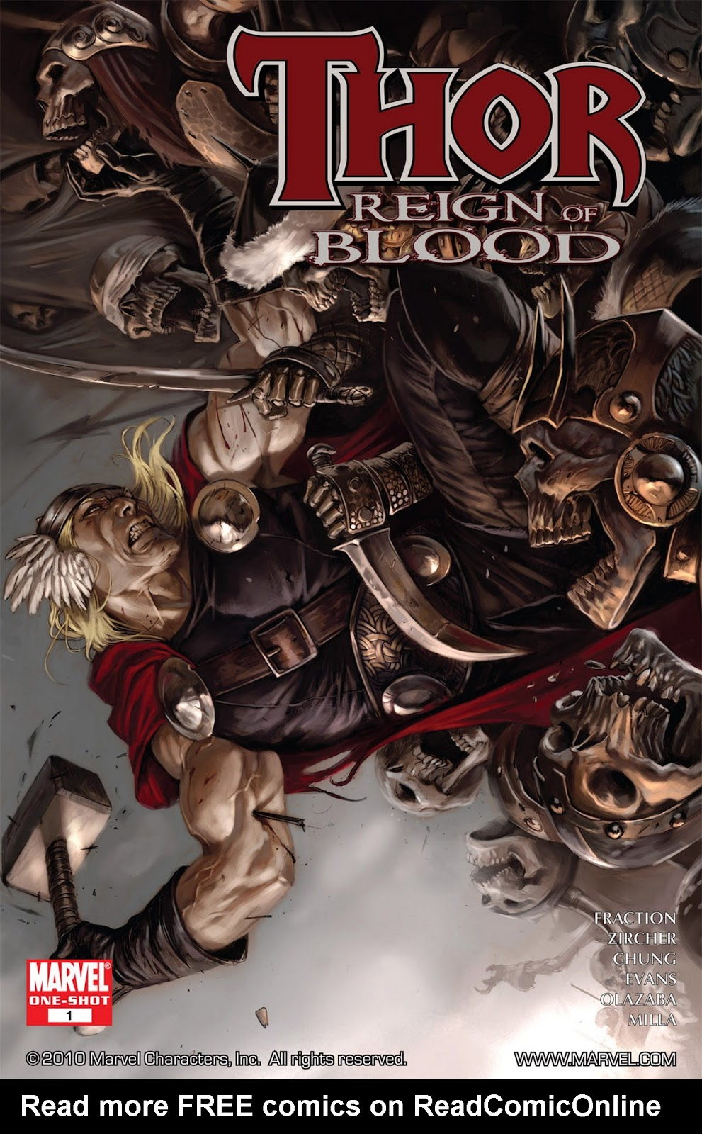 Thor: Reign of Blood issue Full - Page 1