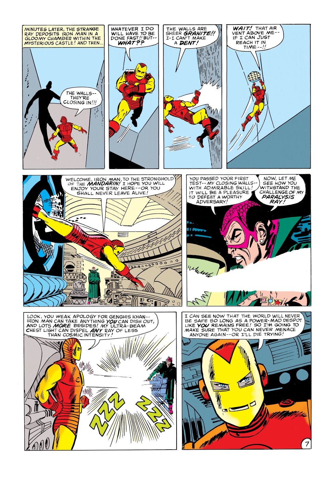 Read online Marvel Masterworks: The Invincible Iron Man comic -  Issue # TPB 1 (Part 2) - 84