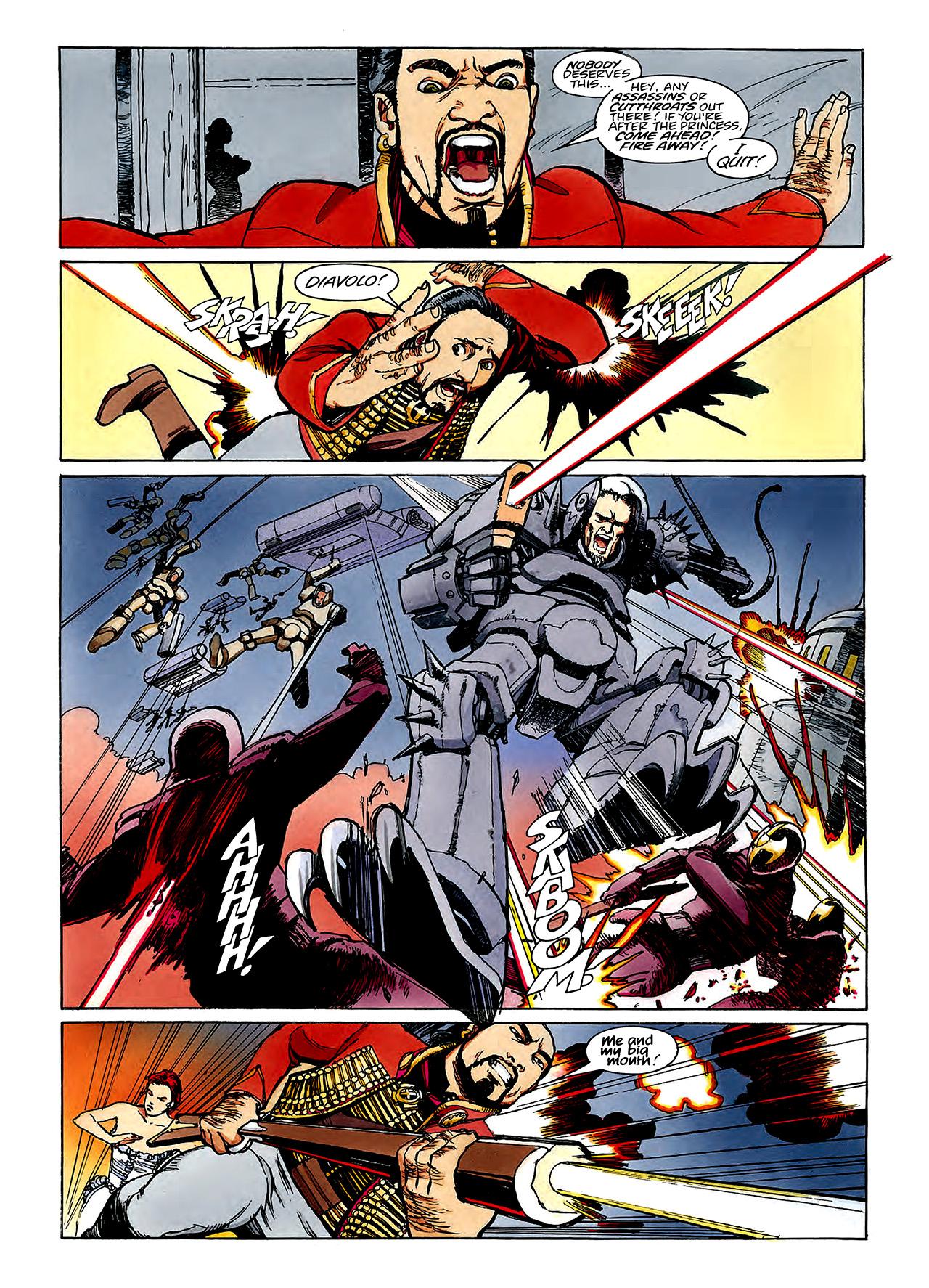 Read online Nikolai Dante comic -  Issue # TPB 3 - 74
