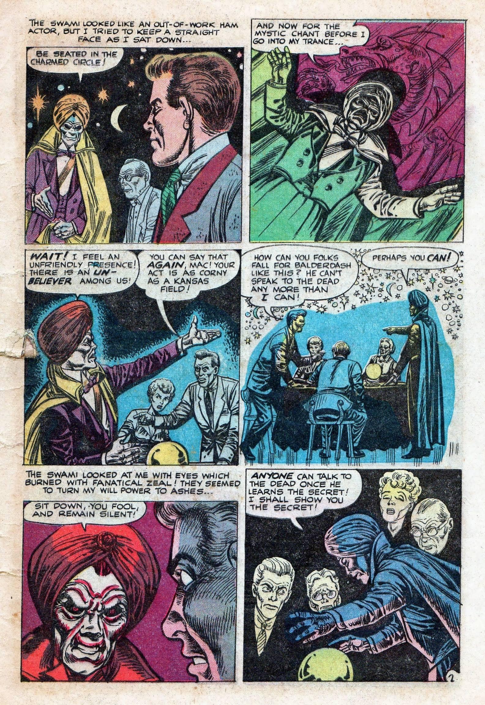 Read online Adventures into Weird Worlds comic -  Issue #11 - 9