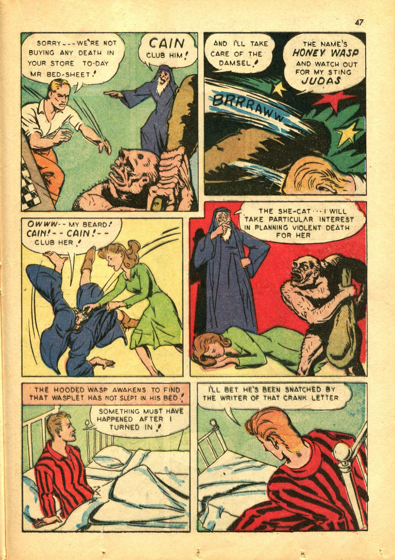 Read online Shadow Comics comic -  Issue #30 - 47
