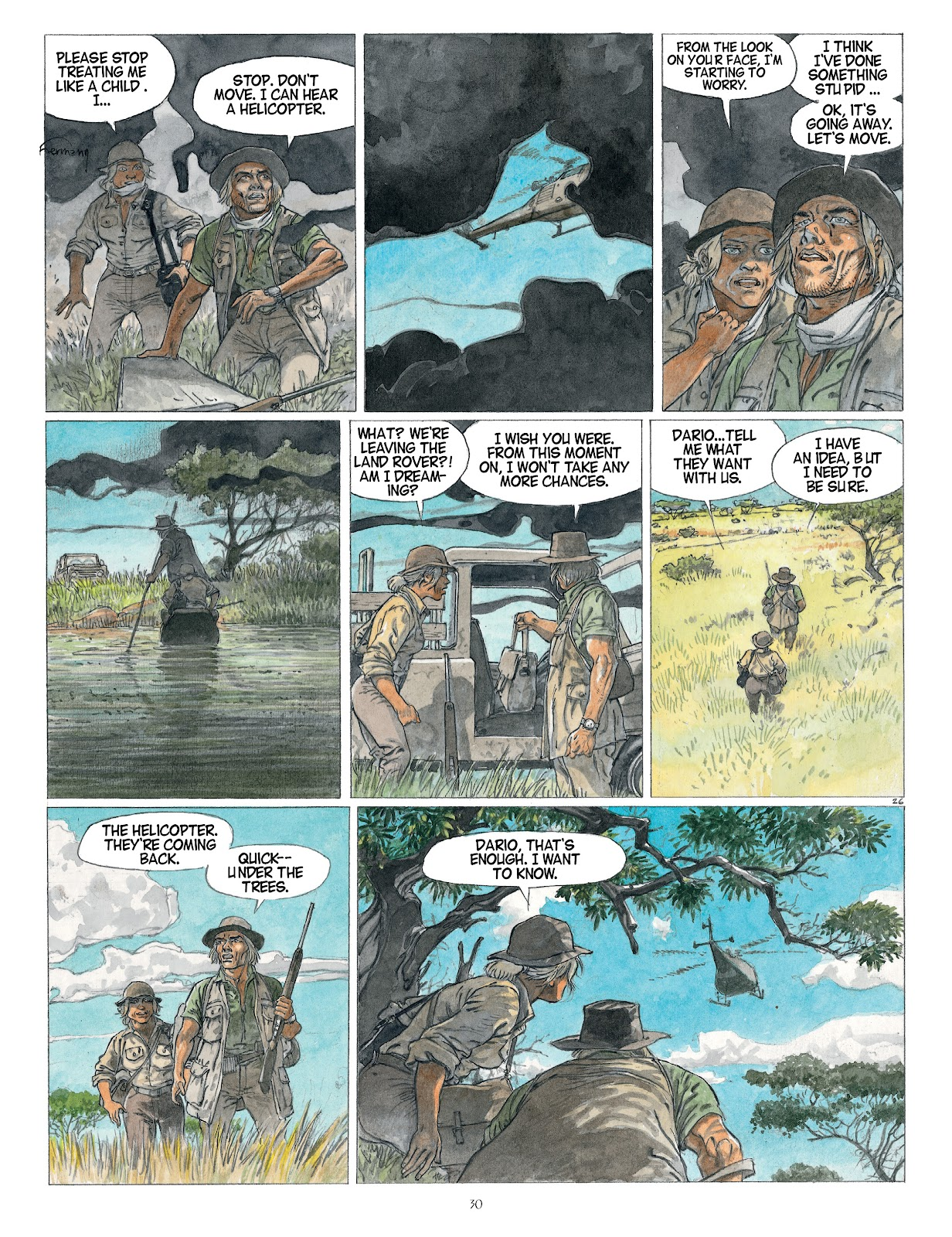 Read online Afrika comic -  Issue # TPB - 30