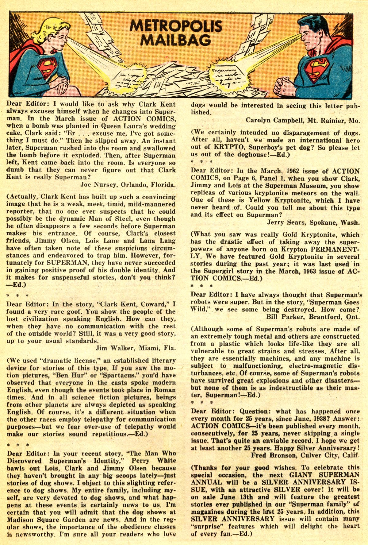 Read online Action Comics (1938) comic -  Issue #301 - 17