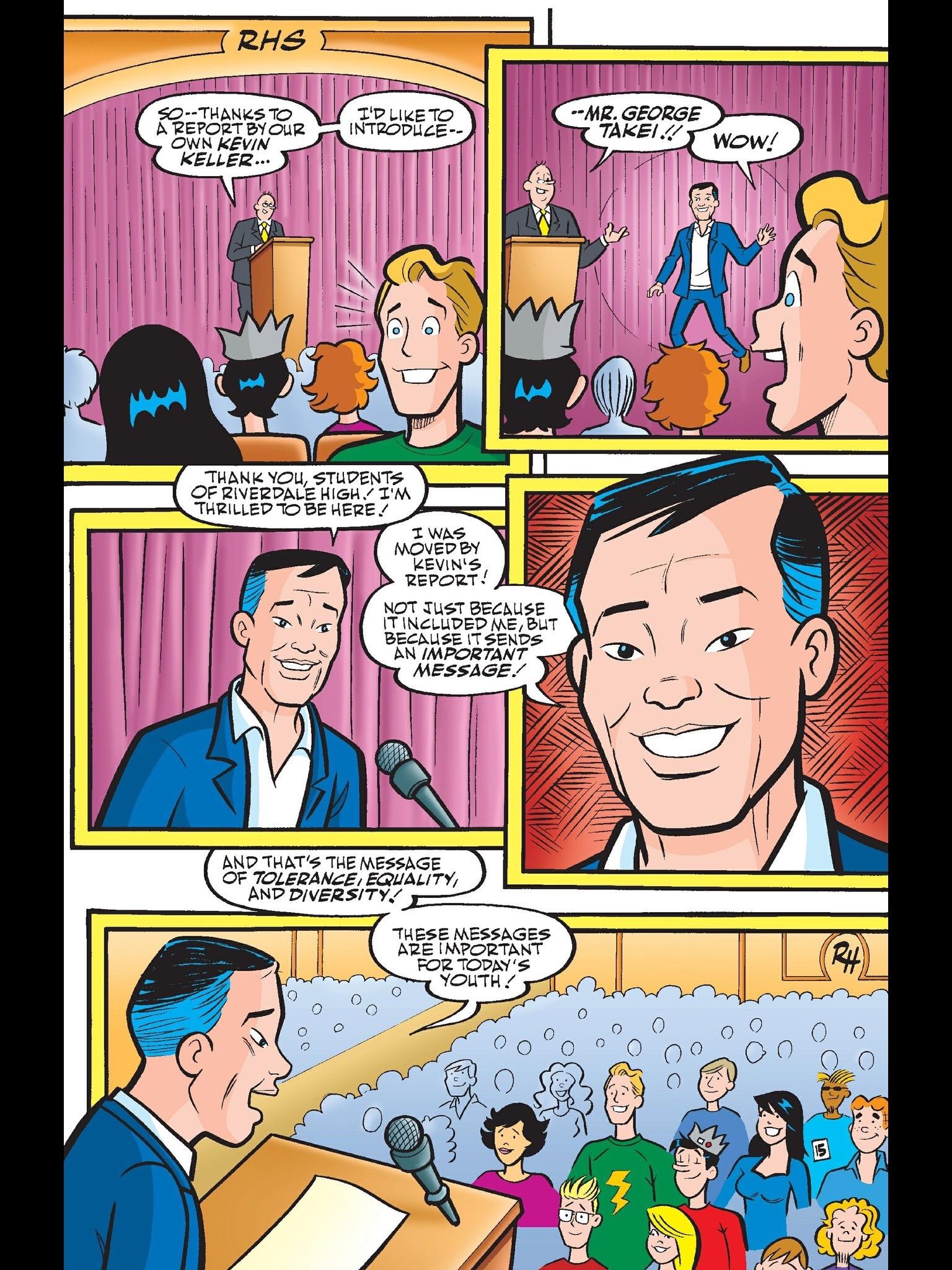 Read online Kevin Keller comic -  Issue #6 - 16