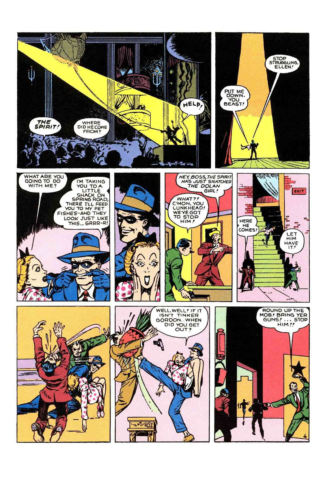 Read online Will Eisner's The Spirit Archives comic -  Issue # TPB 1 (Part 1) - 75