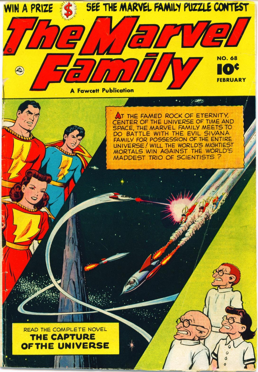 The Marvel Family 68 Page 1