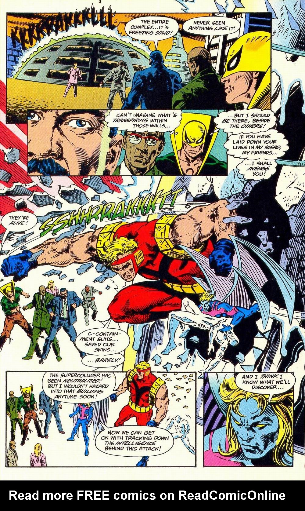 Read online Secret Defenders comic -  Issue #19 - 19