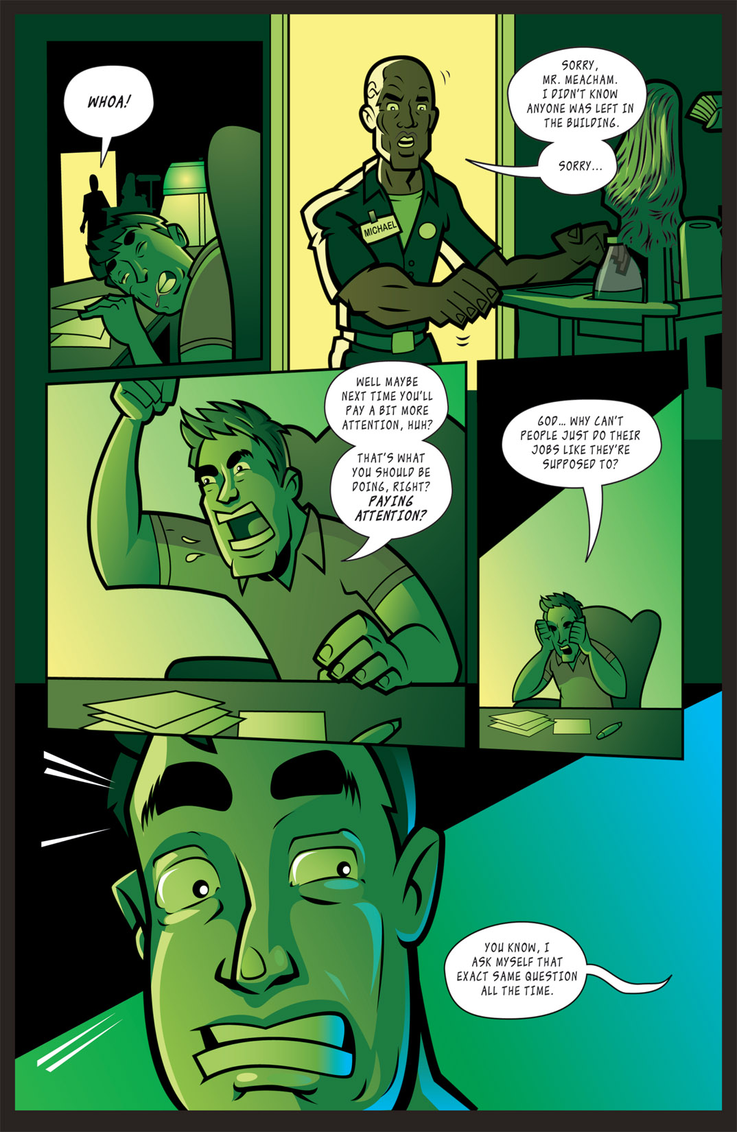 Read online Nightmare World comic -  Issue # Vol. 2 Leave the Light On - 40