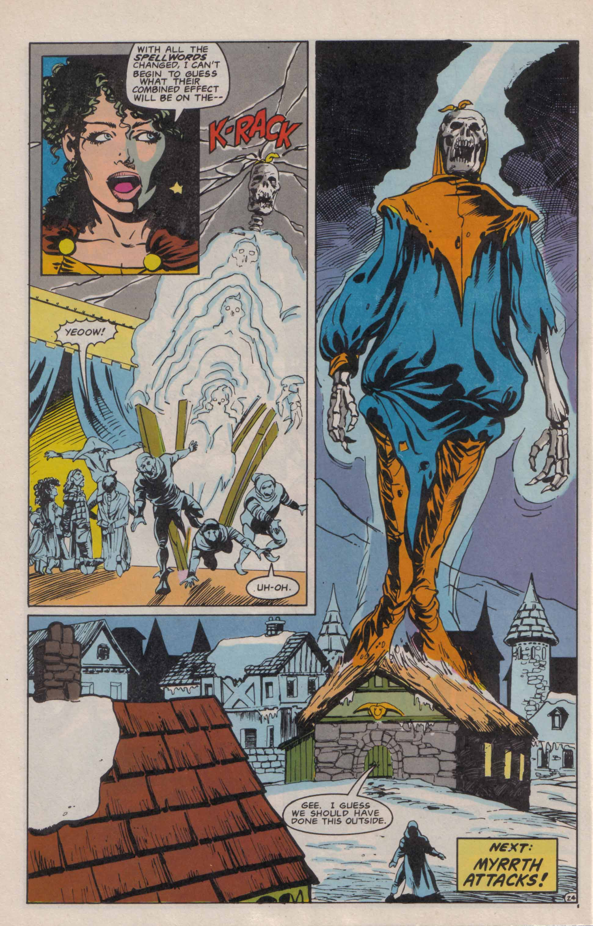 Read online Advanced Dungeons & Dragons comic -  Issue #6 - 25