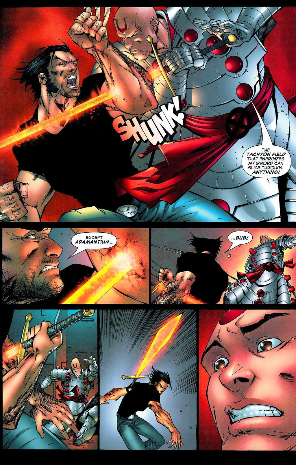 Read online Age of Apocalypse (2005) comic -  Issue #0 - 22