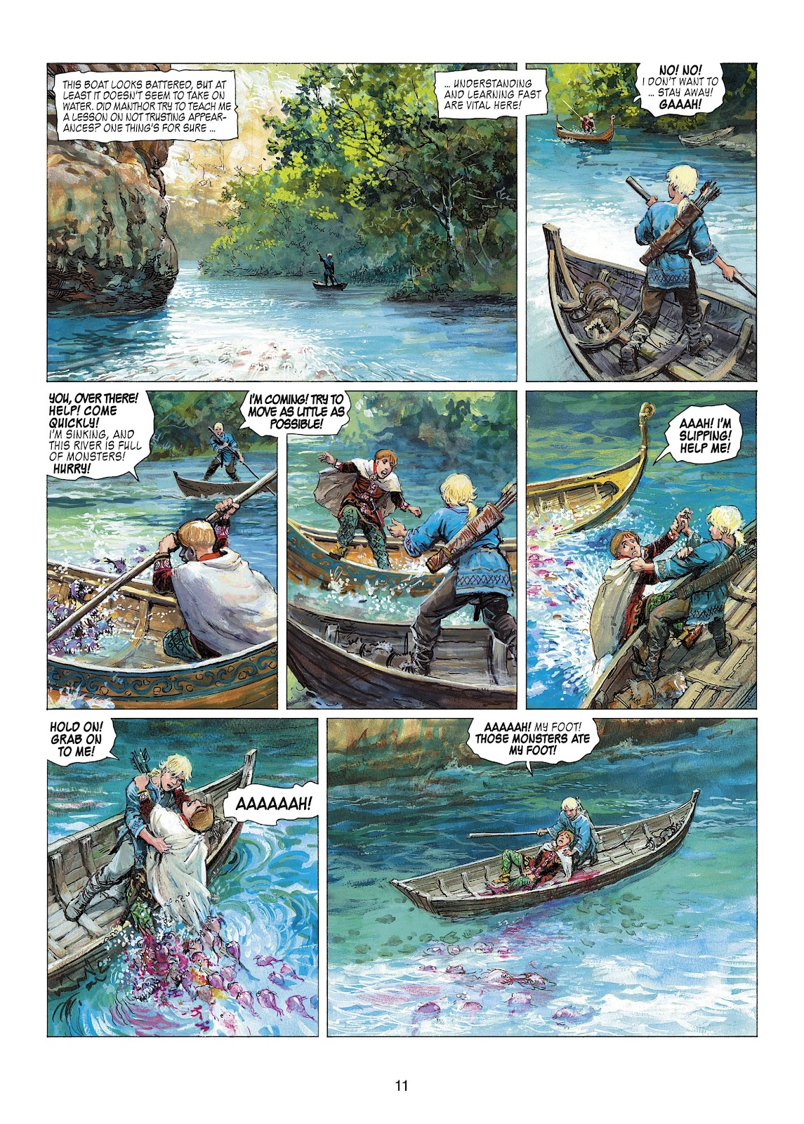 Read online Thorgal comic -  Issue #22 - 13