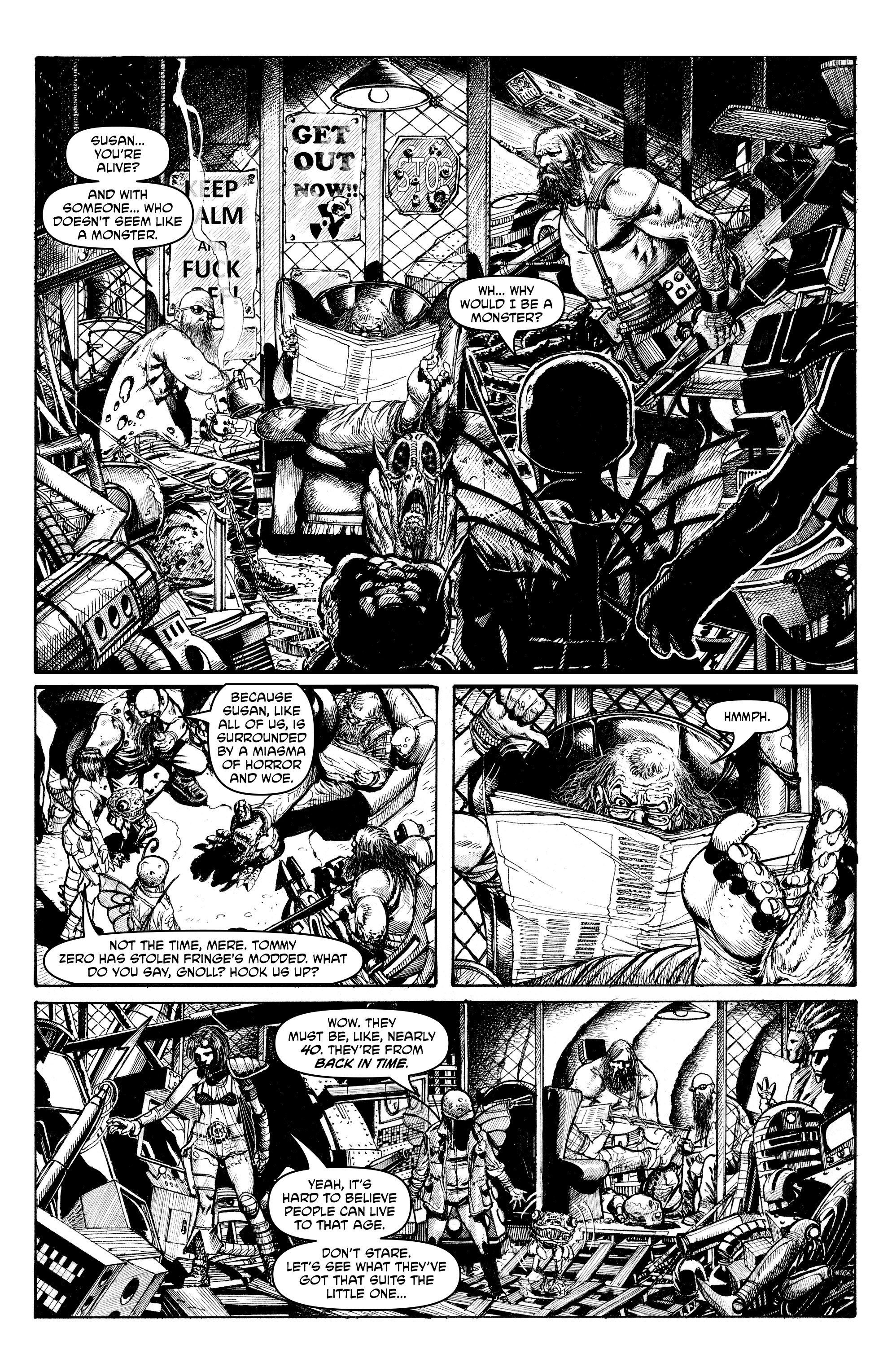 Read online Alan Moore's Cinema Purgatorio comic -  Issue #4 - 30