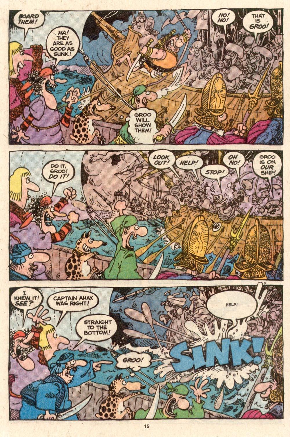 Read online Sergio Aragonés Groo the Wanderer comic -  Issue #54 - 15