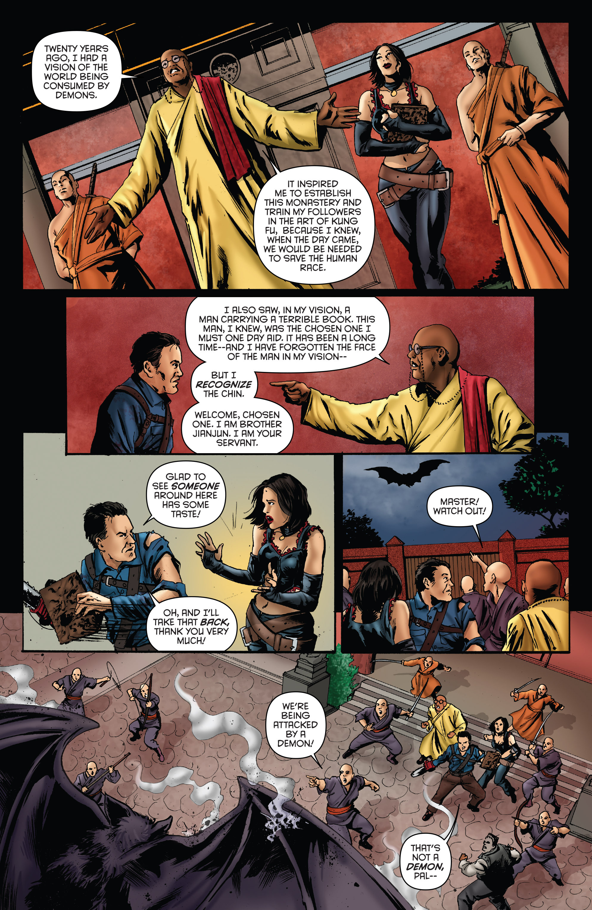 Read online Army of Darkness: Furious Road comic -  Issue #5 - 22