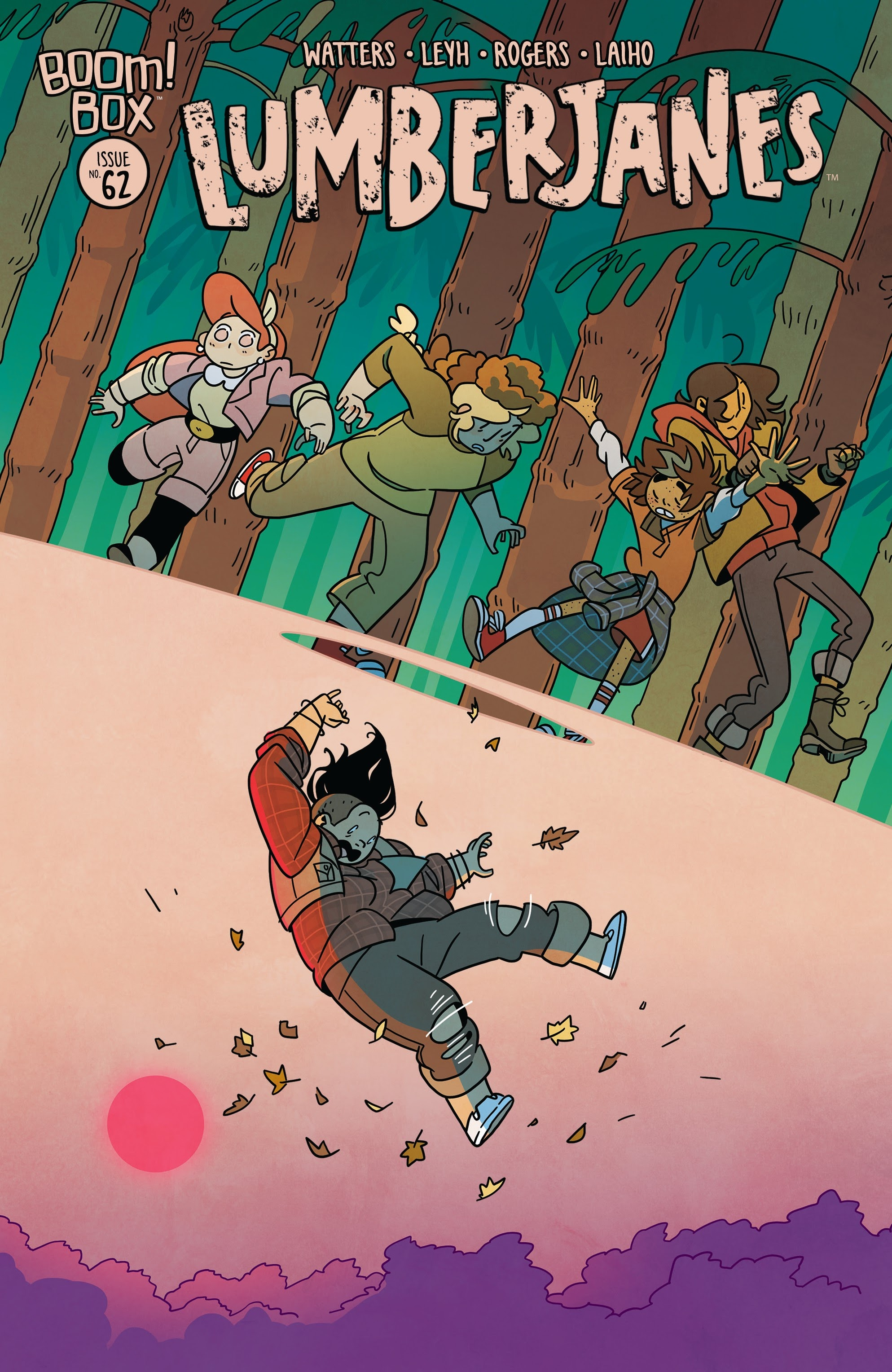 Lumberjanes issue 62 - Page 1