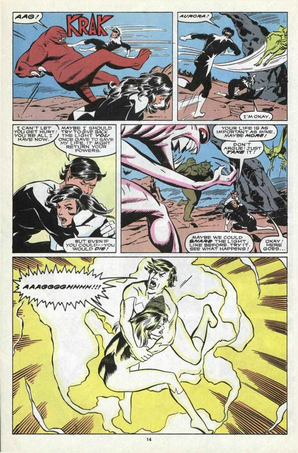 Read online Alpha Flight (1983) comic -  Issue #85 - 13