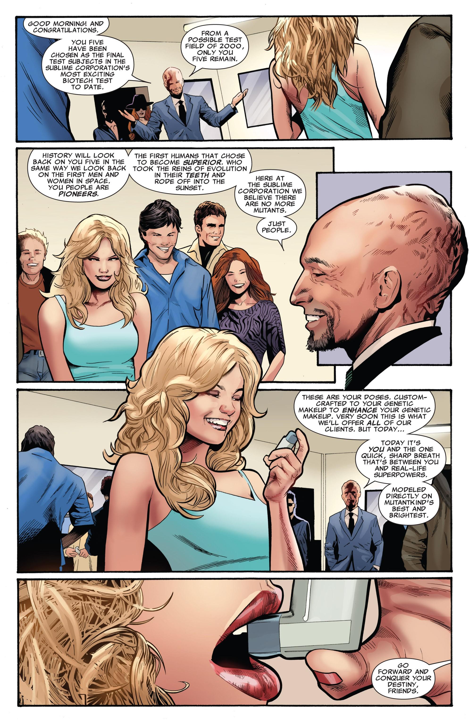 Read online Uncanny X-Men (1963) comic -  Issue #530 - 16