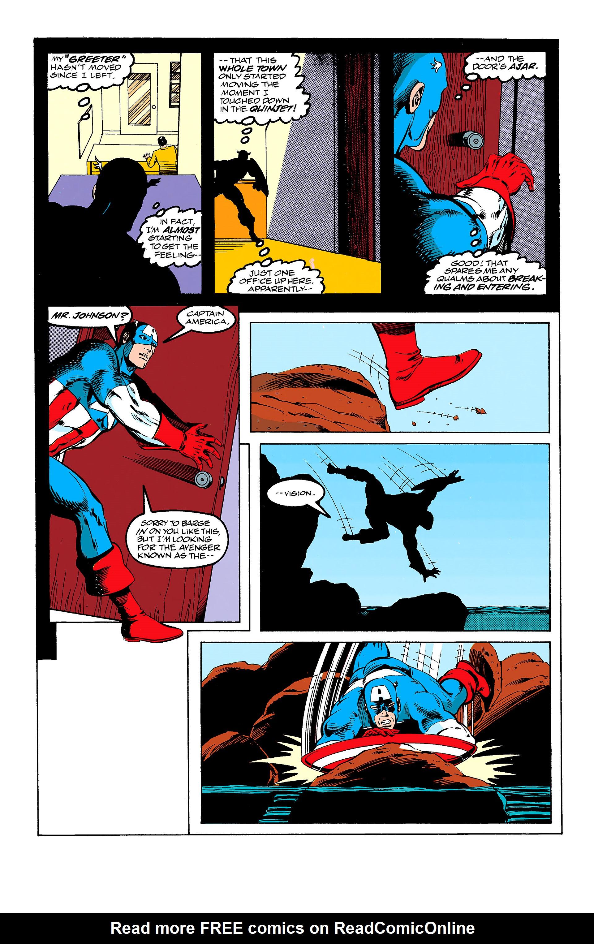 Read online Captain America (1968) comic -  Issue # _Annual 11 - 9