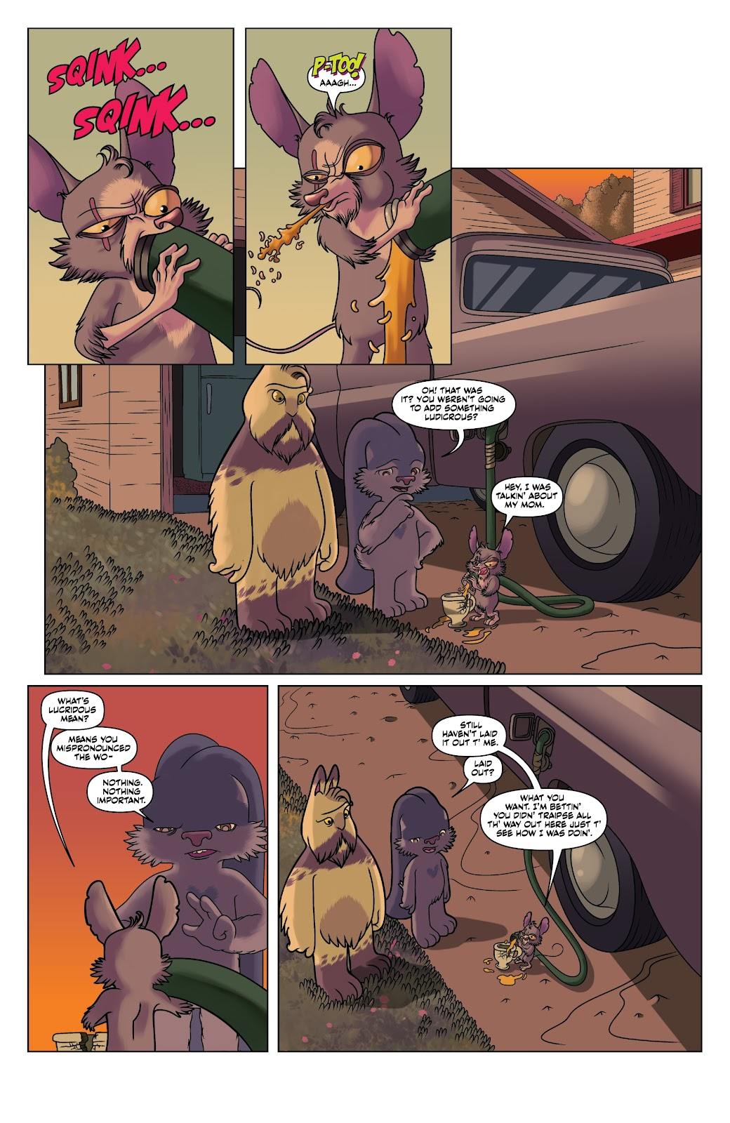 Read online Auntie Agatha's Home For Wayward Rabbits comic -  Issue #4 - 6