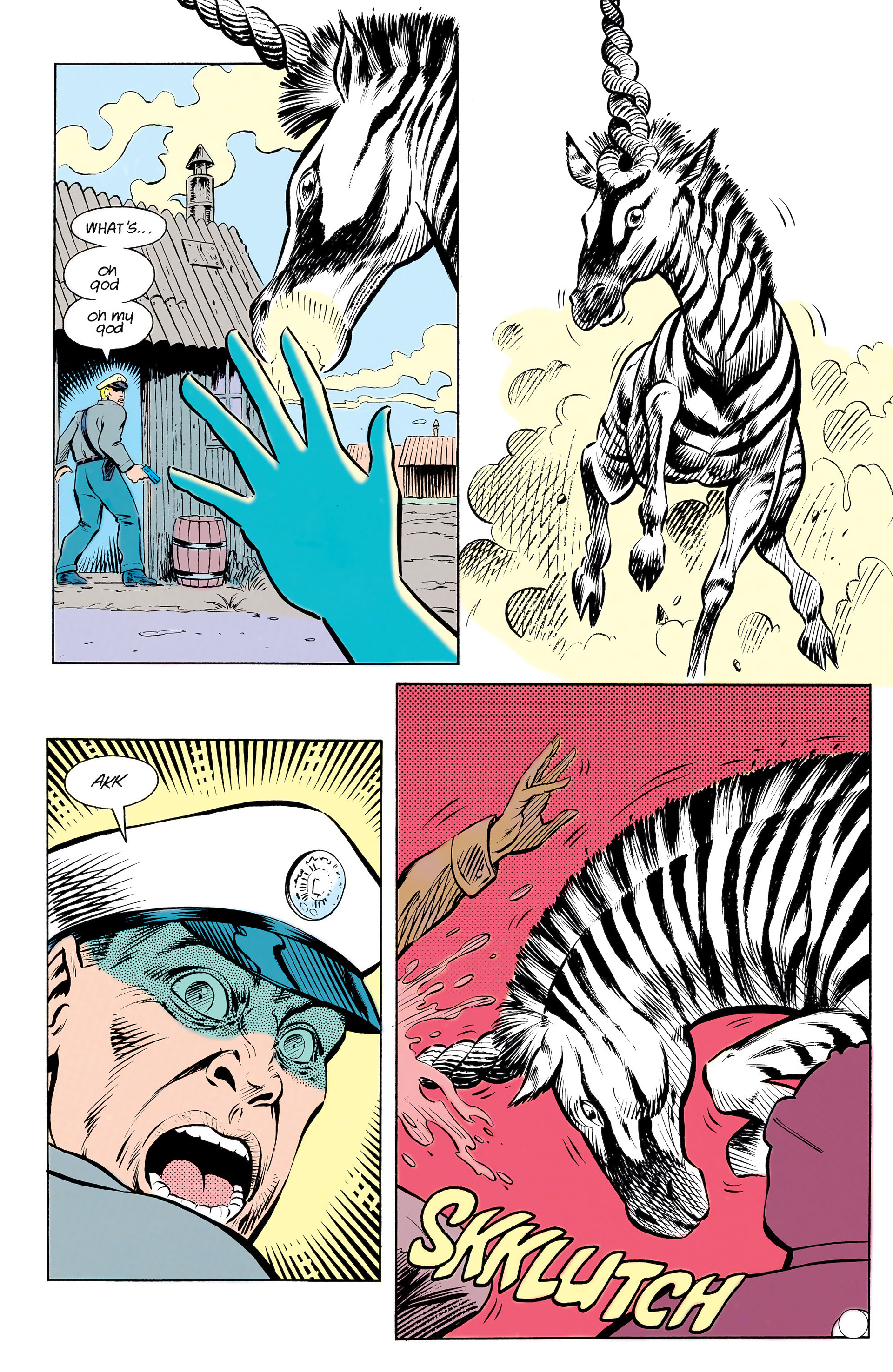Read online Animal Man (1988) comic -  Issue #13 - 23