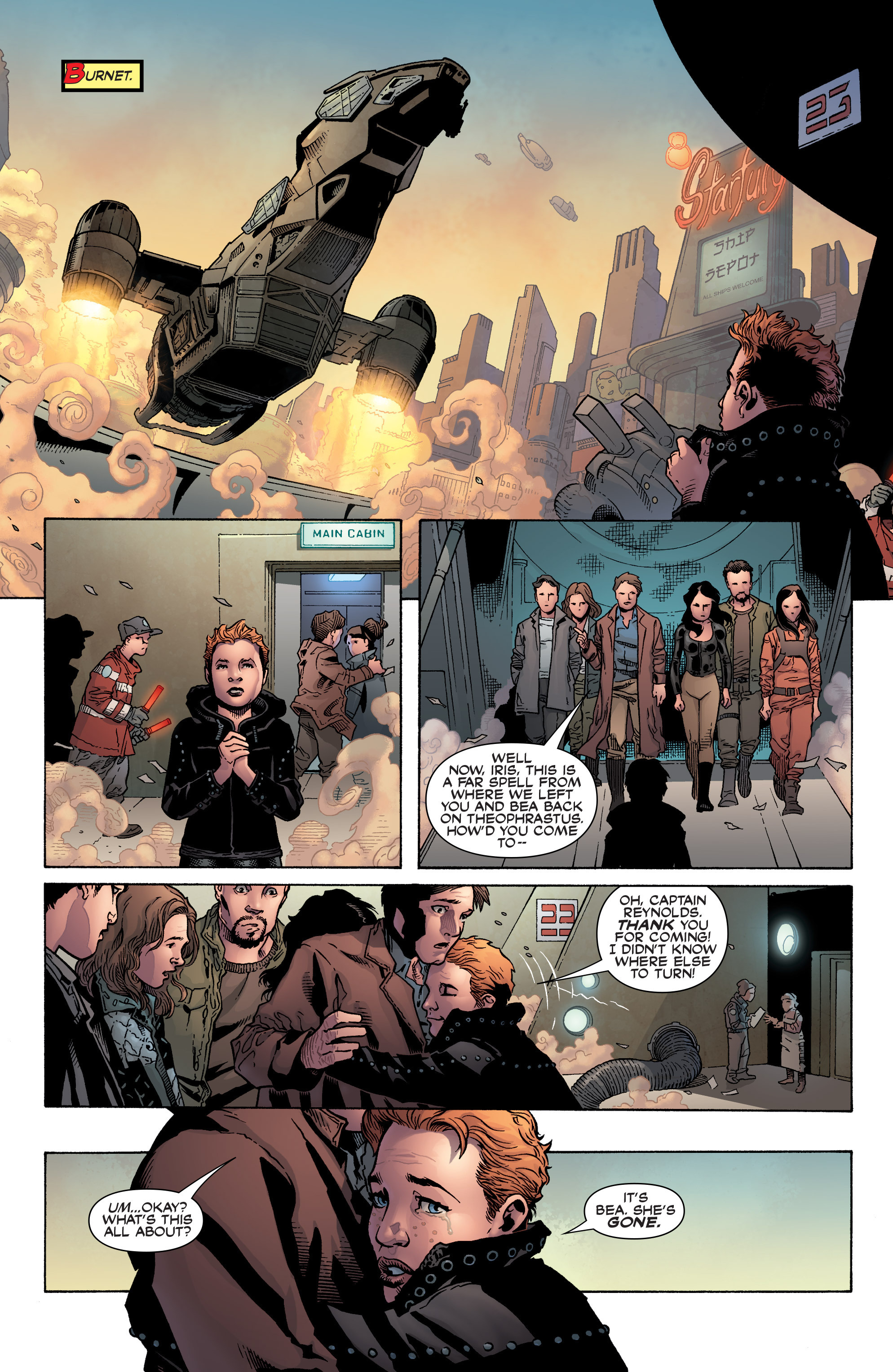 Read online Serenity: Firefly Class 03-K64 – No Power in the 'Verse comic -  Issue #1 - 26