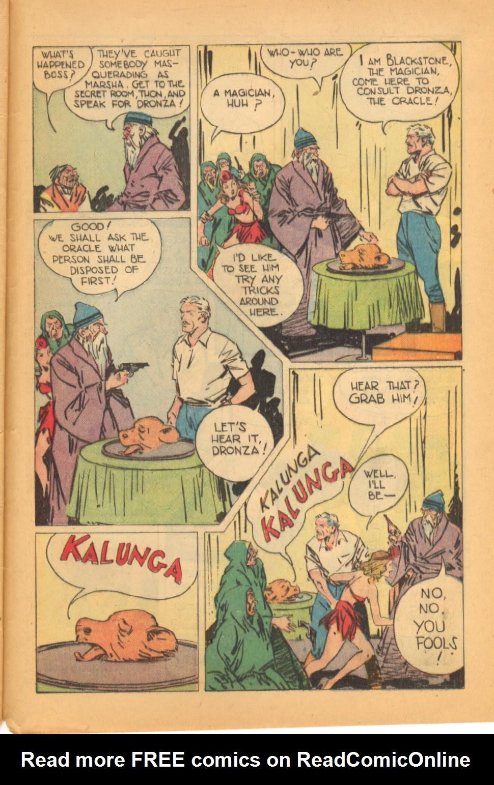 Read online Super-Magician Comics comic -  Issue #44 - 49