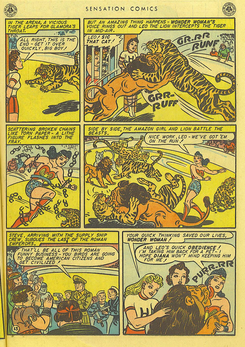 Read online Sensation (Mystery) Comics comic -  Issue #39 - 15