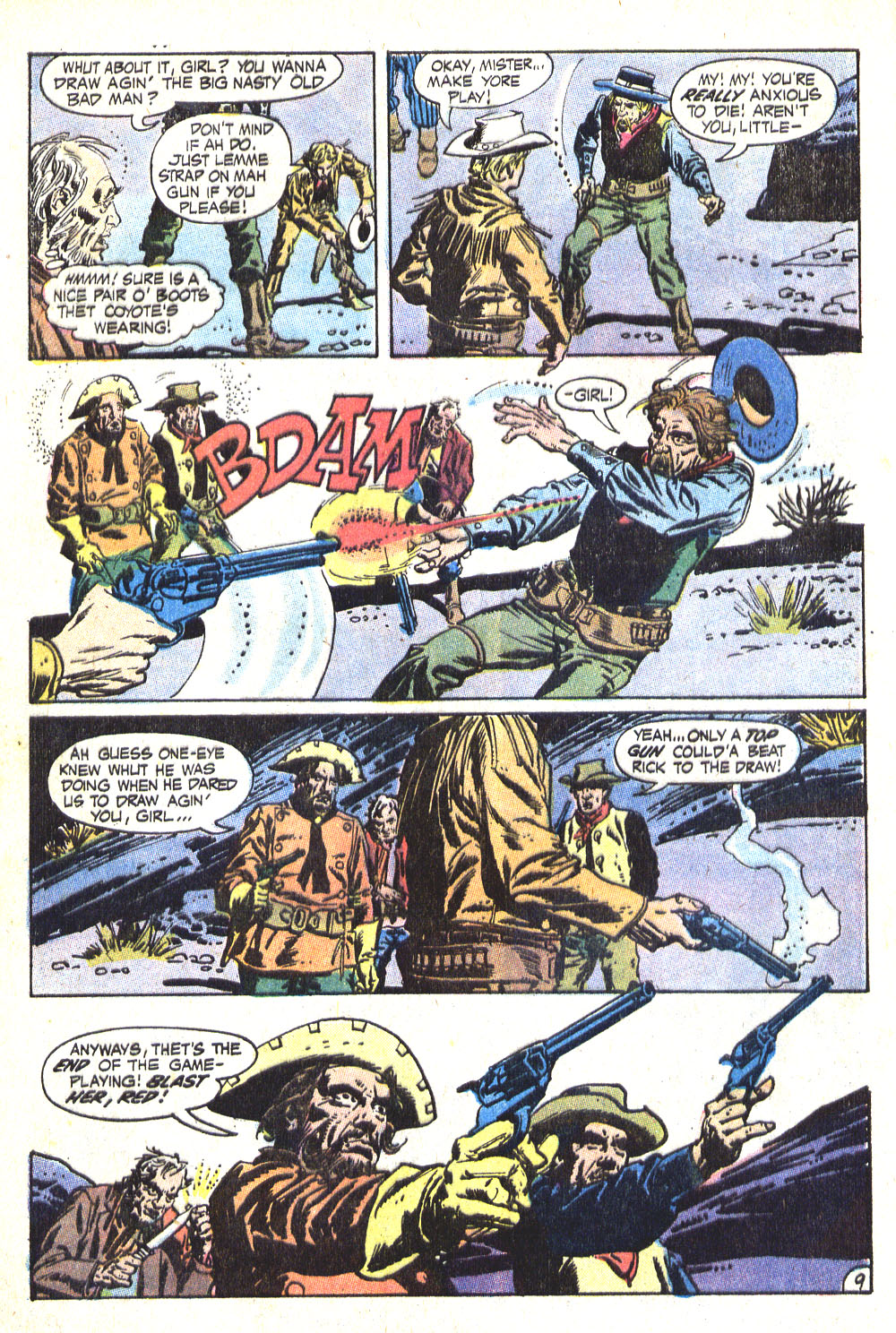 Read online All-Star Western (1970) comic -  Issue #8 - 12
