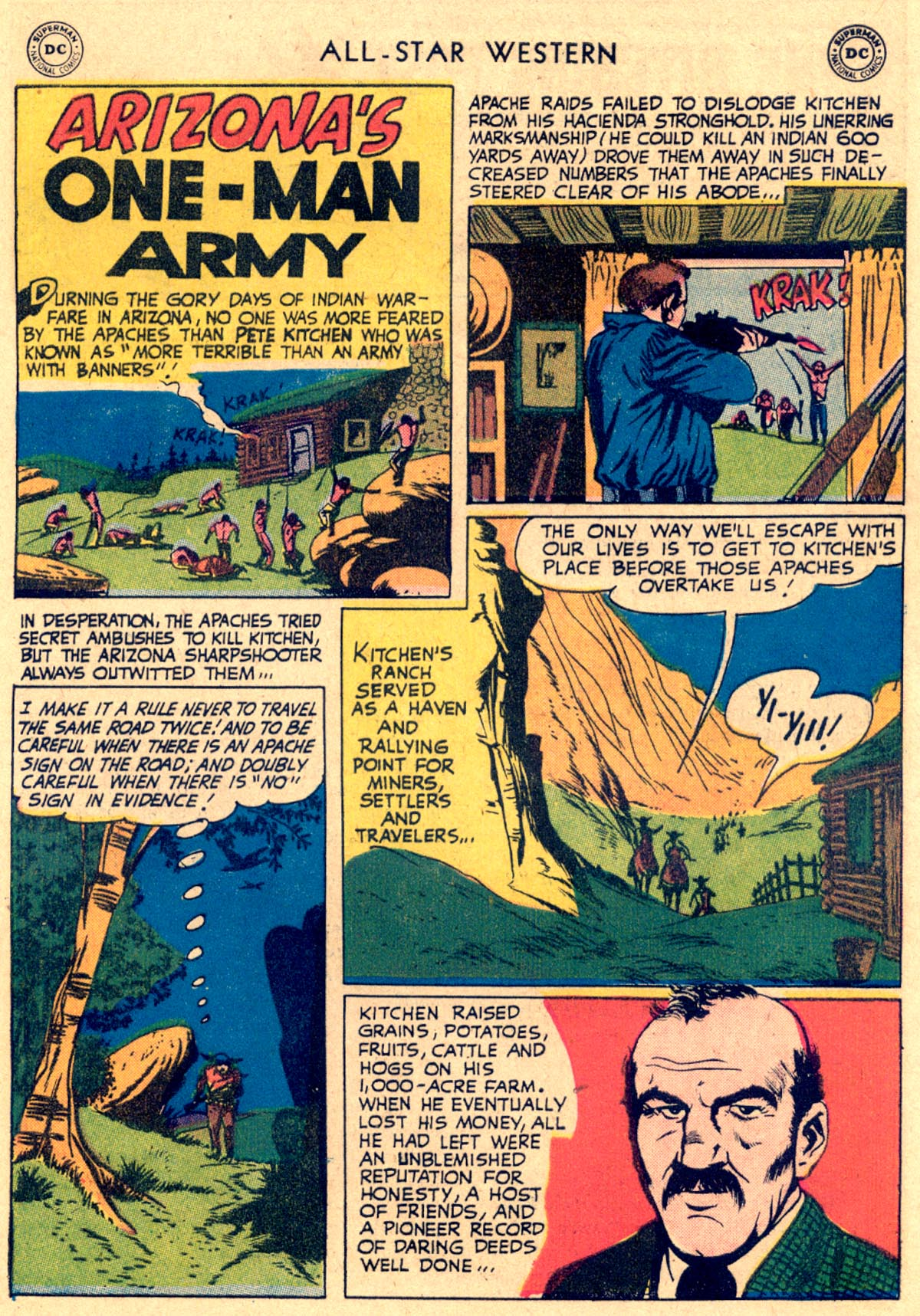 Read online All-Star Western (1951) comic -  Issue #112 - 23