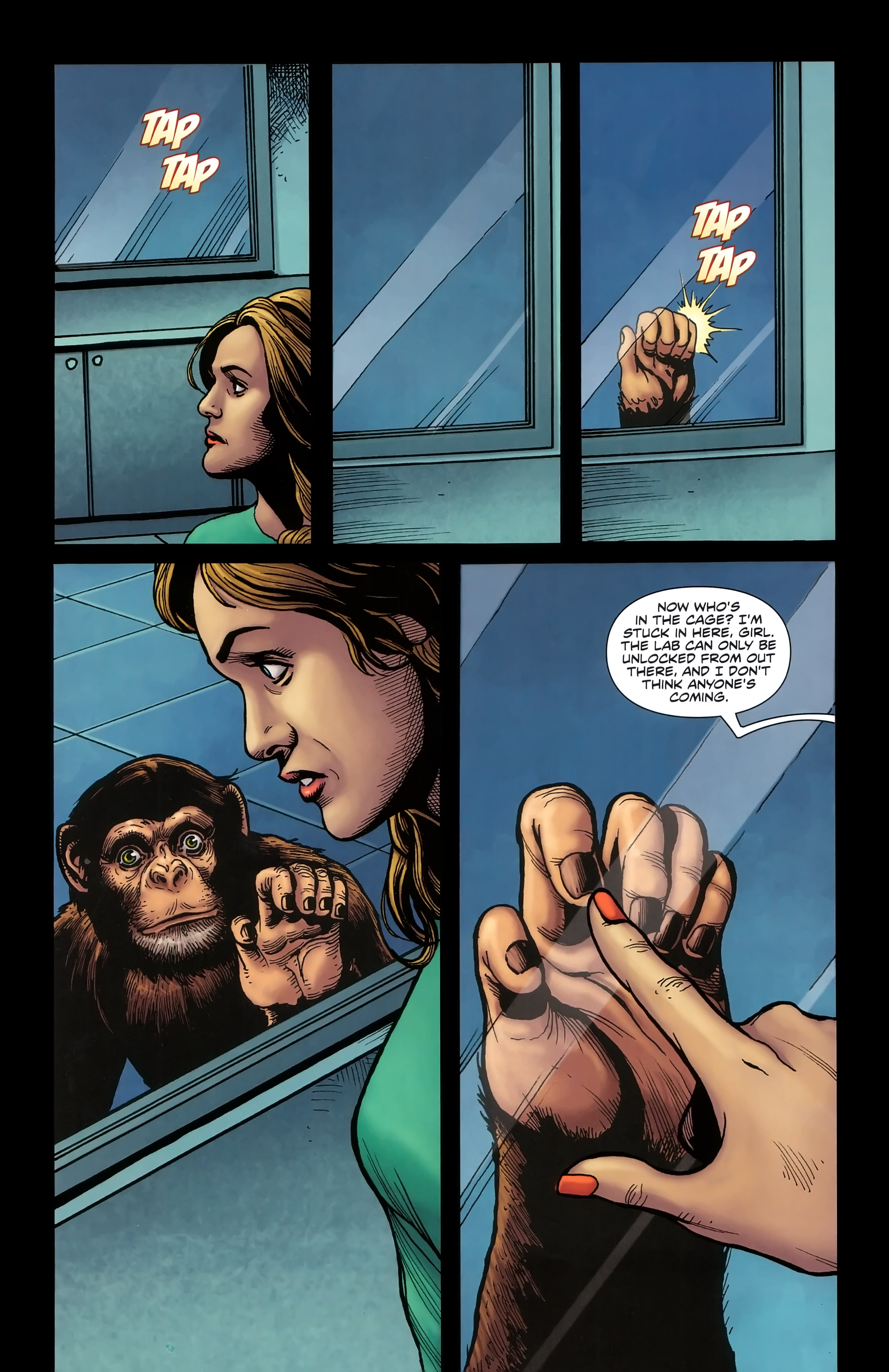 Read online Dawn of the Planet of the Apes:Contagion comic -  Issue # Full - 20